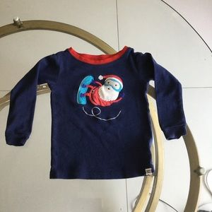 10 for $25 BABY GAP BLUE/RED CHRISTMAS SHIRT